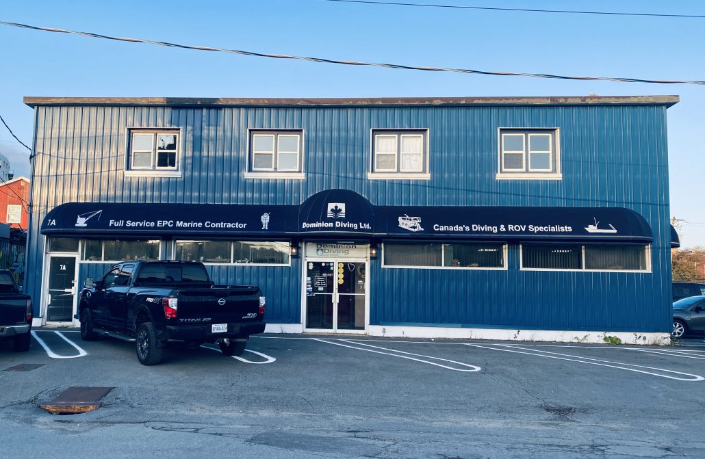 Dominion Diving Head Office Dartmouth NS