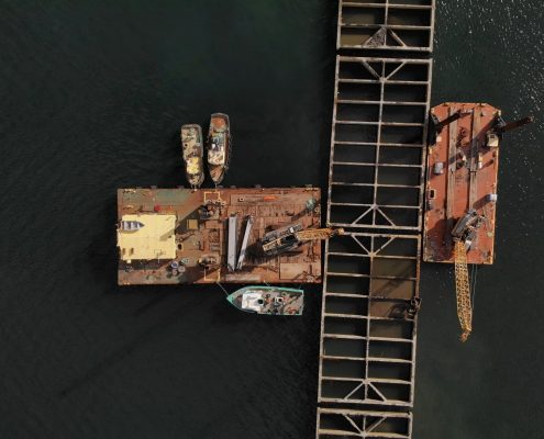 Dominion's helping the port get ready for the largest container ships ever built.