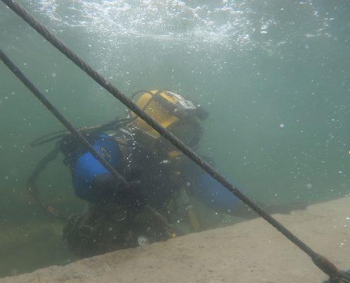 installing ramp for harbour hopper in Halifax NS